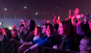 Зрители на концерте в Барнауле