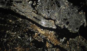 Нью-Йорк с орбиты