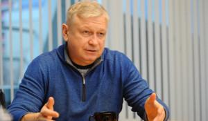Юрий Шамков, председатель Алтайской федерации гребли на байдарках и каноэ
