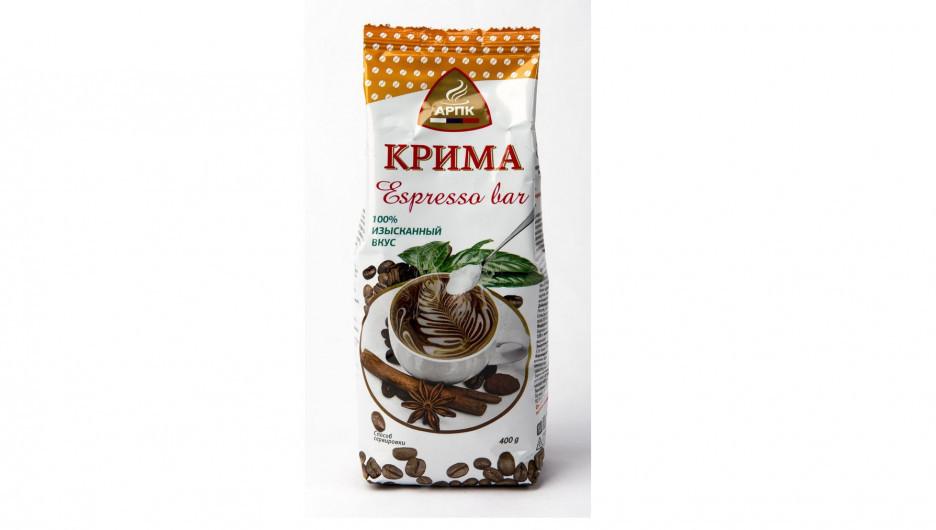 """Новый продукт """"Крима Espresso Bar""""."""