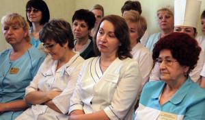 Медсестры и врачи в Камне-на-Оби.