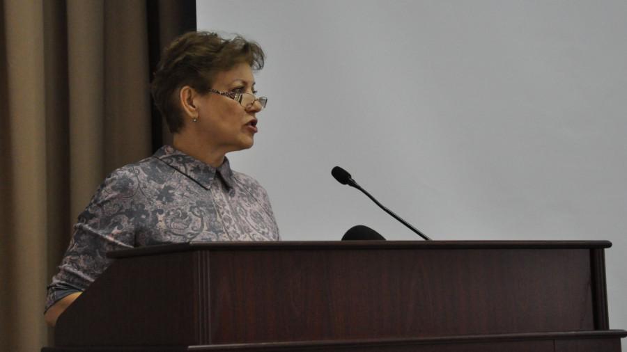 Надежда Тиньгаева, председатель комитета по финансам, налоговой и кредитной политике Барнаула.