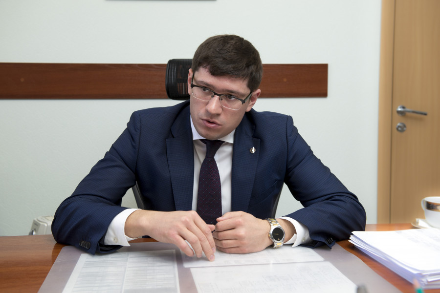 Артем Шамков, генеральный директор «Барнаульского завода АТИ»