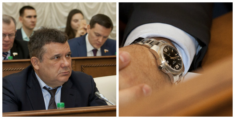 Альберт Лунев, депутат АКЗС, глава компании «СПТК»