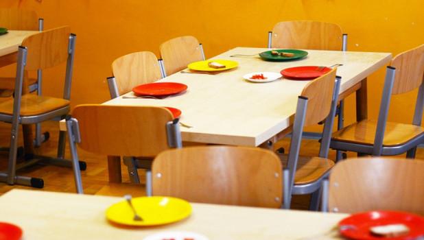 Детский сад, столовая.