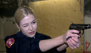 Прапорщик полиции с Урала Анна Храмцова названа самой красивой в Росгвардии.