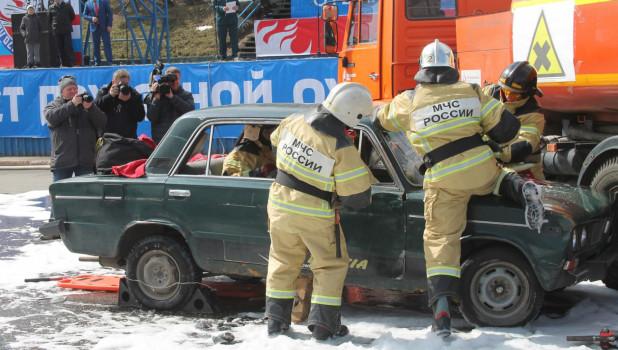Юбилей пожарной службы.