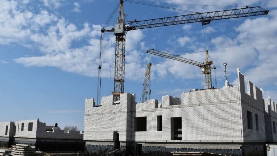 Строительство детского сада в Новоалтайске.