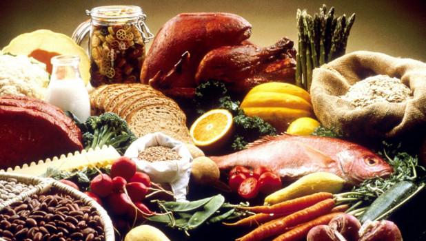 Продукты. Овощи. Мясо