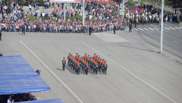 Парад Победы в Барнауле. 2019 год.