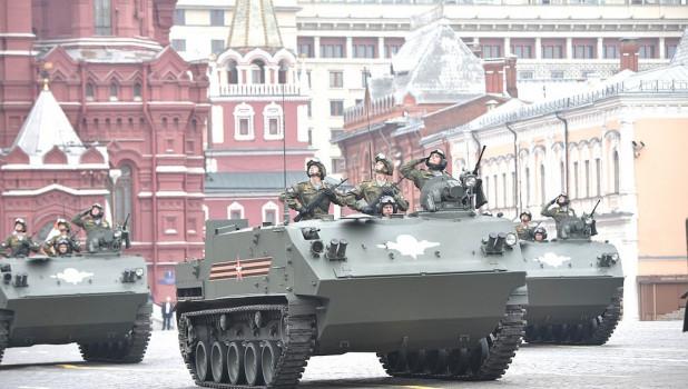 Парад Победы в Москве. 2019 год.