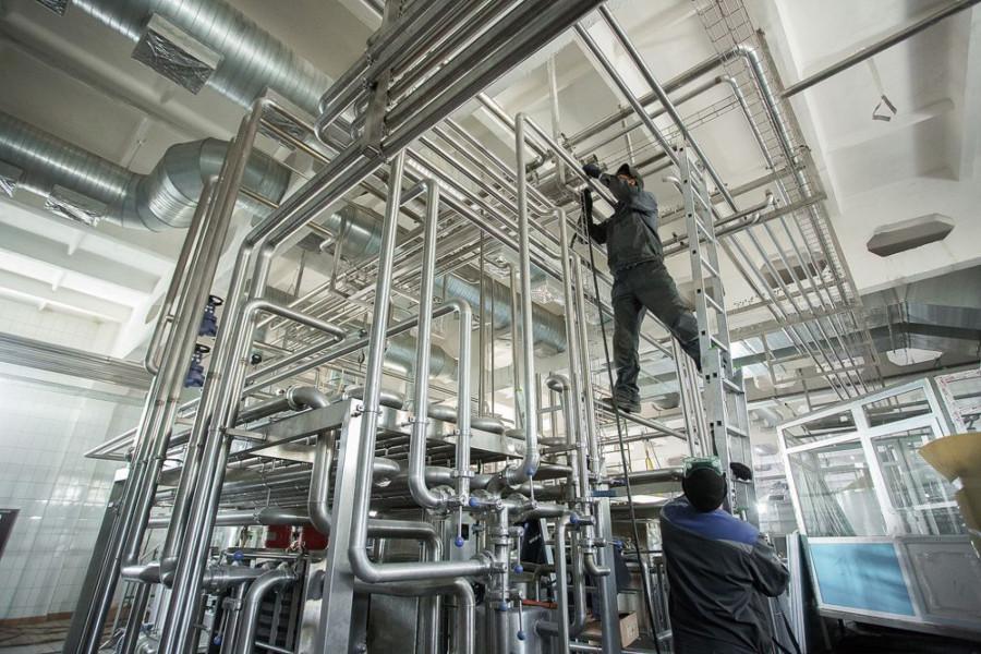 Модернизация на Быстрянском маслосырзаводе