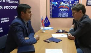 Иван Нифонтов подает документы для участия в праймериз.