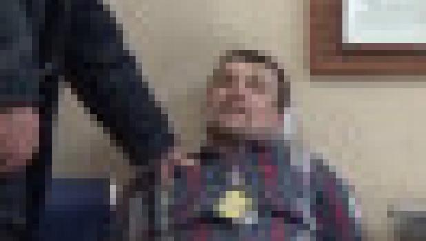 Пьяного дебошира задержали в Толмачево.