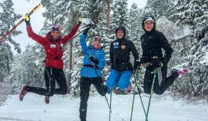 Российские биатлонистки приступили к тренировкам в Белокурихе