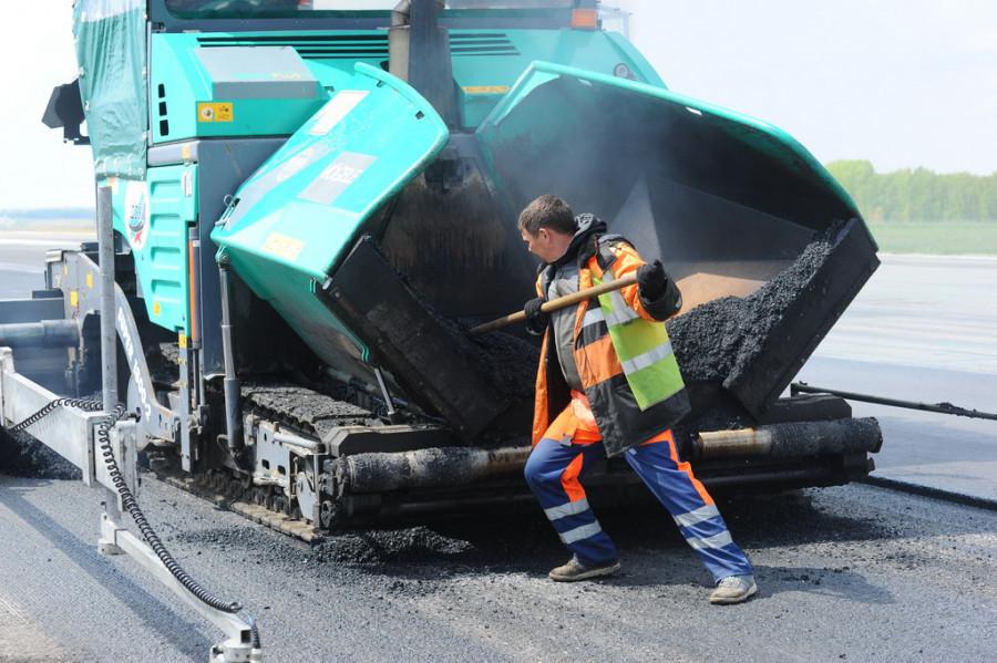 Новый асфальт, ремонт дорог.