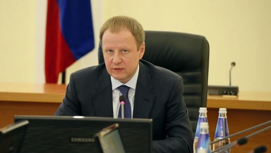 На совещании в правительстве Алтайского края.