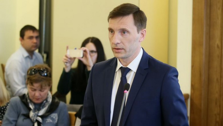 Александр Климин, министр промышленности и энергетики Алтайского края.