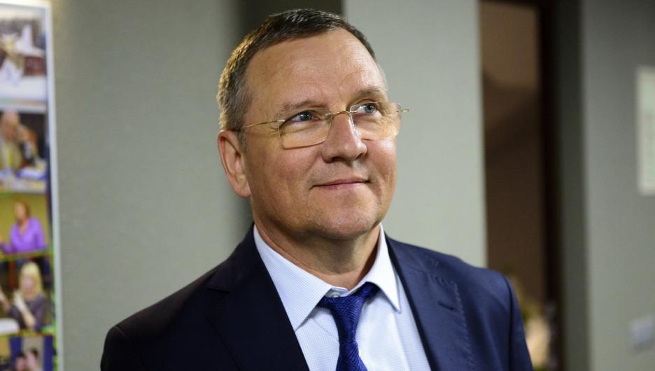 Сергей Демин, заместитель главы Барнаула по строительству и земельным отношениям.