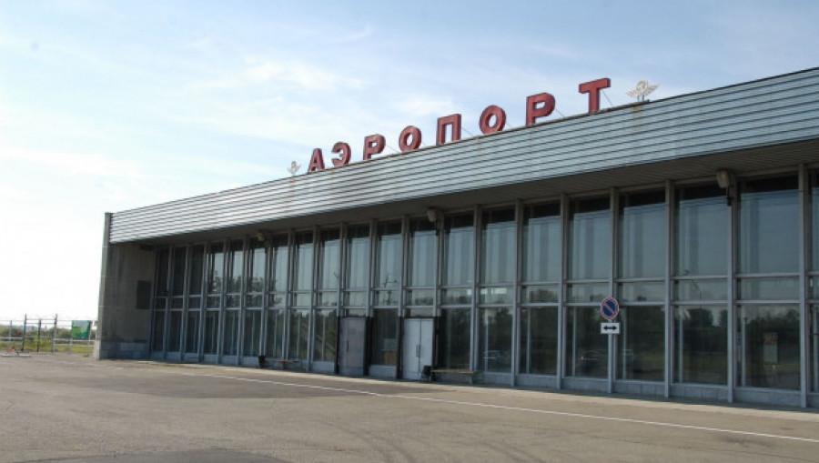 Виды Бийска. Аэропорт.