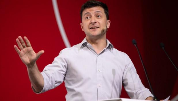 Владимир Зеленский, президент Украины.