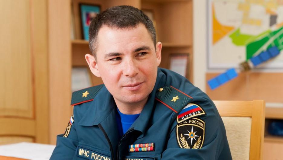 Александр Макаров, руководитель ГУ МЧС России по Алтайскому краю.