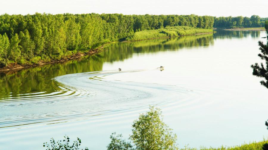 Река Чумыш.