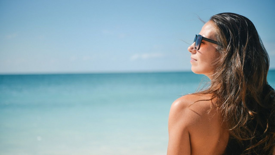 Пляж. Солнце.