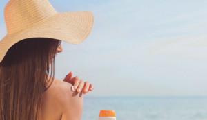 Пляж. Солнцезащитный крем.