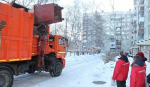 Вывоз мусора в Барнауле.