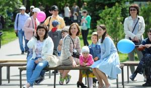 День защиты детей в Центральном парке Барнаула.