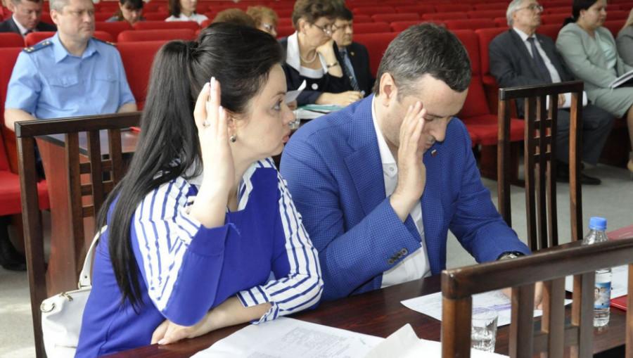 Депутаты Барнаульской городской думы 5 июня 2019 года.