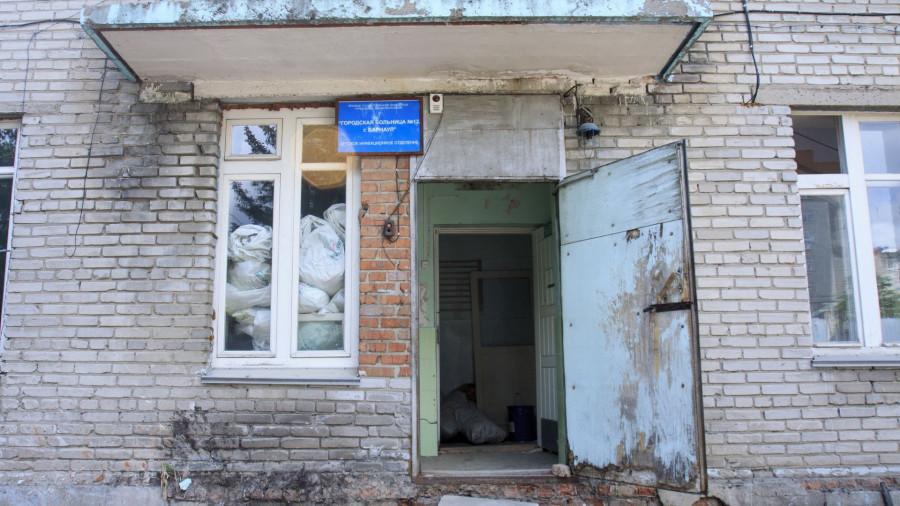 В городской больнице №12 в Барнауле.
