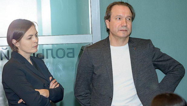 Виктор Рыжаков и Елена Ковальская