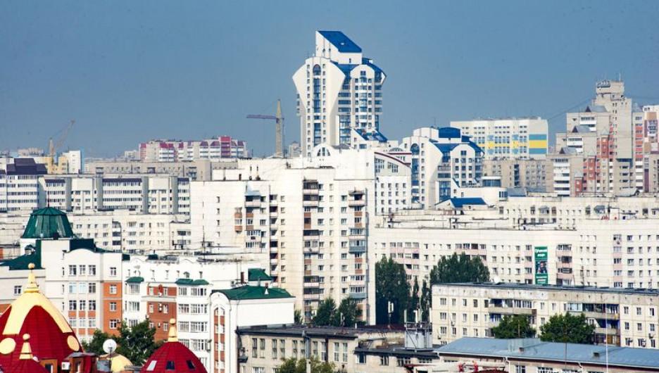 Барнаул. Новостройки.