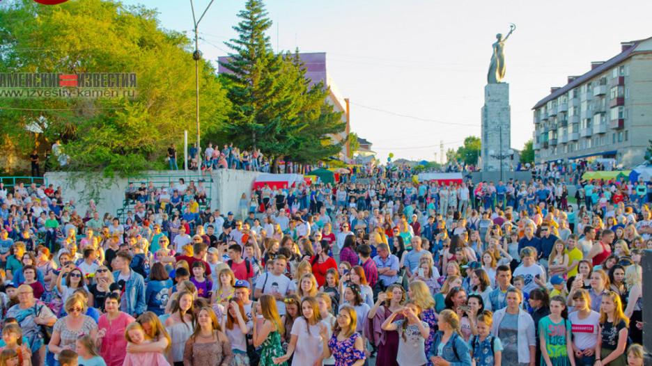 День города - 2019 в Камне-на-Оби.