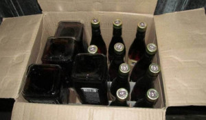 Фальсифицированный алкоголь.