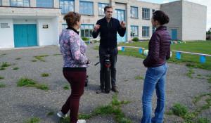Голландский журналист Мартин Смиерс в Андроново.