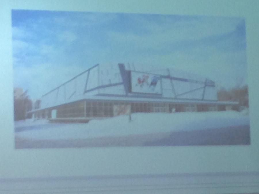 Проект капитального ремонта Дворца зрелищ и спорта
