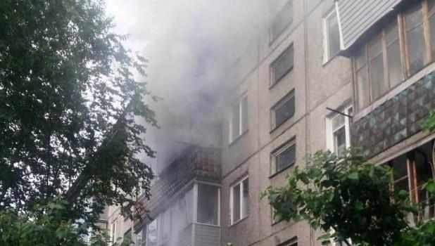 Пожар в многоэтажке 20 июня.