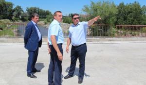 В Алтайском построят новый мост.