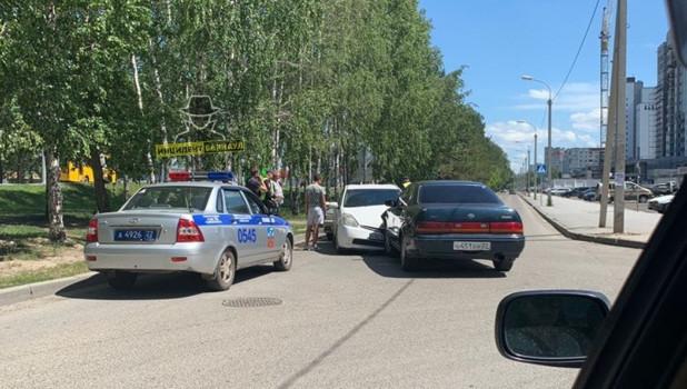 ДТП на малом Павловском тракте 21 июня.