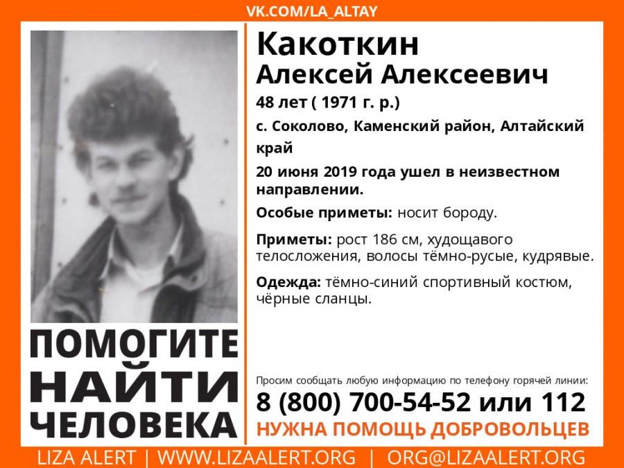Какоткин Алексей Алексеевич.