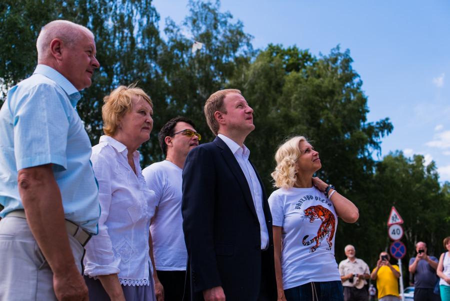 Евгений Дятлов и Алена Свиридова в Косихе на фестивале Роберта Рождественского