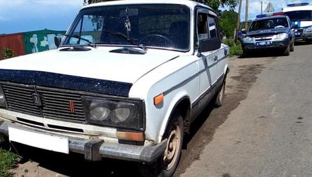 Угон ВАЗ-2106. ДПС