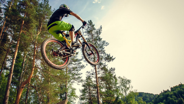 В Белокурихе прошли экстремальные велогонки.