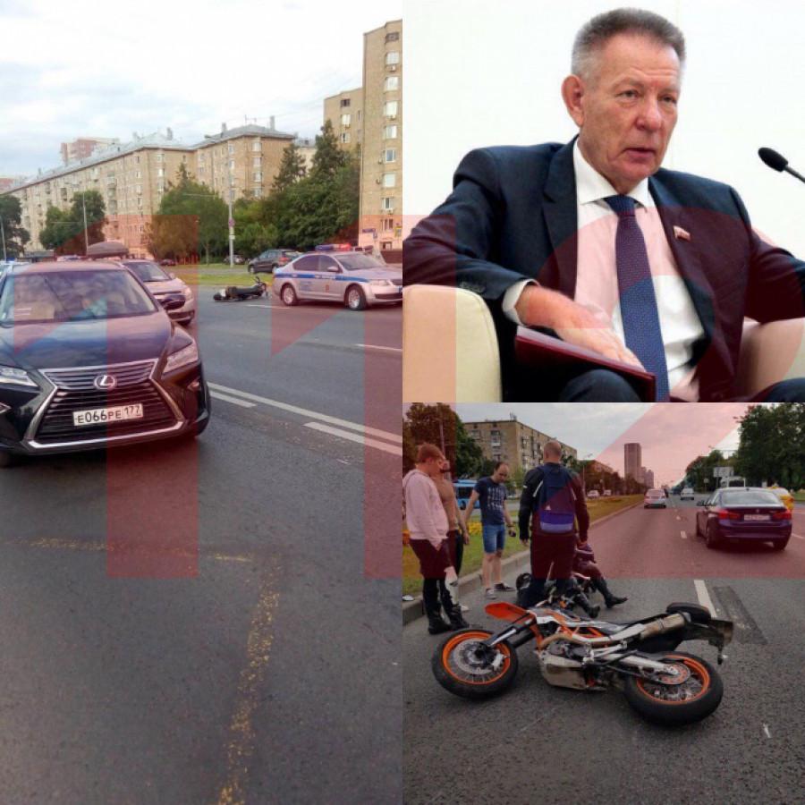 Николай Герасименко попал в ДТП в Москве.
