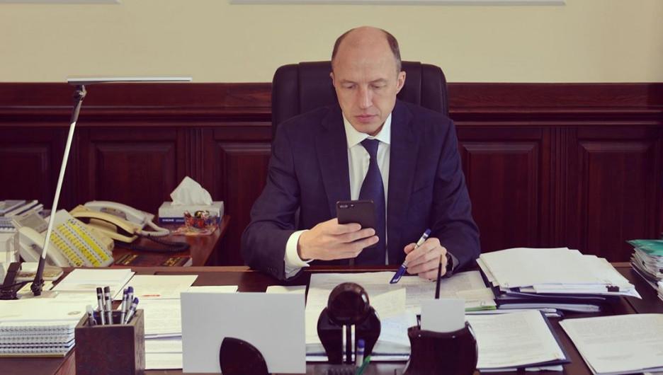 Глава Республики Алтай Олег Хорохордин.