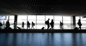 Аэропорт. Пассажиры.