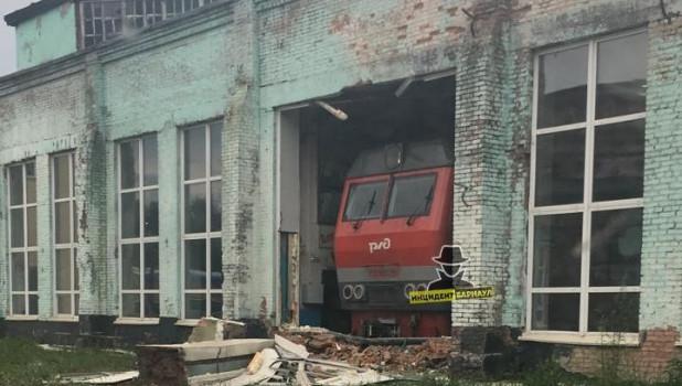 Инцидент в барнаульском депо.